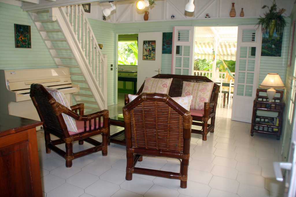 Salon de la Villa de plain pied
