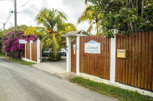 Entrée - location Villa Guadeloupe
