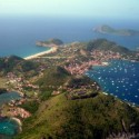 La Guadeloupe vue d'avion